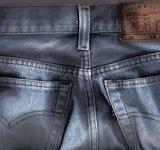 De originele spijkerbroek zat al net zo confortabel
